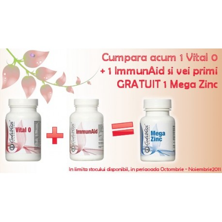 Super promotie Calivita: Vital O + ImmunAid
