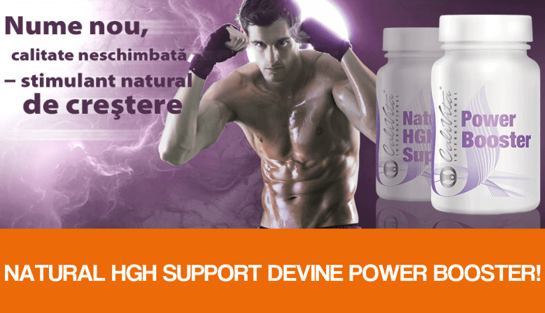 Natural HGH Support Devine Power Booster!