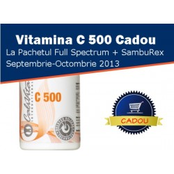 Promotie Calivita septembrie-octombrie 2013: SambuRex + Full Spectrum