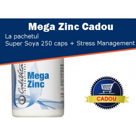 Promotie Calivita septembrie-octombrie 2013: Super Soya Lecithin 250 caps. + Stress Management