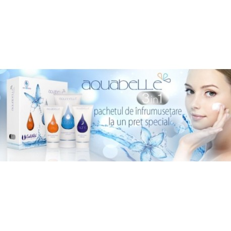 Promotie Calivita: Pachetul de infrumusetare Aquabelle 3 in 1 la pret redus