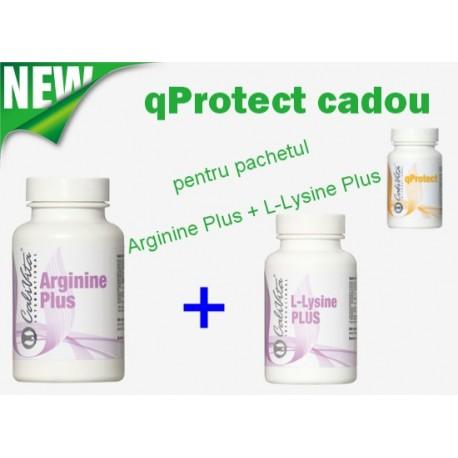 Promotie Calivita mai 2014: Arginine Plus + L-Lysine Plus