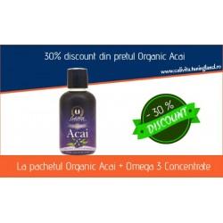 Promotie Calivita Noiembrie 2014: 30% DISCOUNT Organic Acai