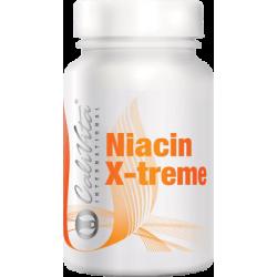 Niacin X-treme CaliVita - Vitamina Naturala B3 Pentru Energie Si Functionarea Optima A Sistemului Nervos Si Circulatiei Sanguine