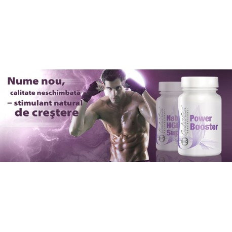 Power Booster (Natural HGH Support) - stimuleaza secretia hormonului de crestere