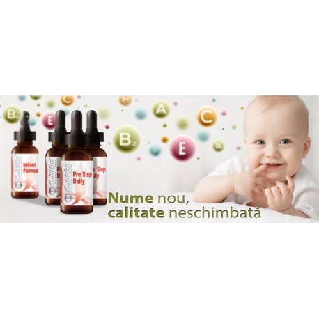 Infant Formula - multivitamine pentru sugari 100% naturale devine Pre Steps Daily