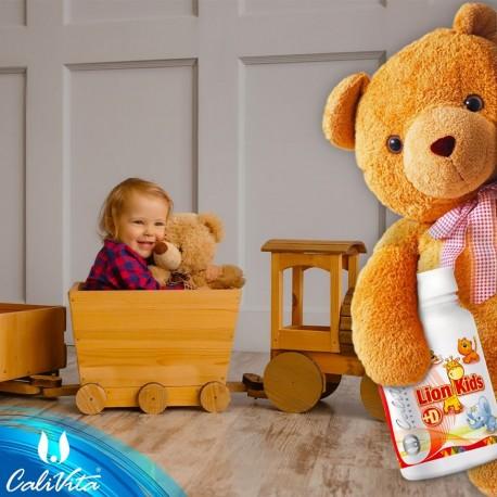 Lion Kids Punch cu vitamina D - vitamine si minerale pentru copii