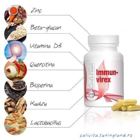 Immunvirex - supliment natural pentru cresterea imunitatii cu actiune antivirala