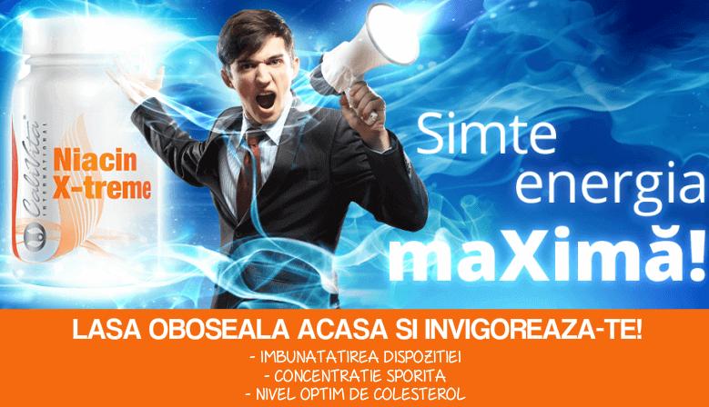 Niacin X-treme - Simte Energia Maxima!