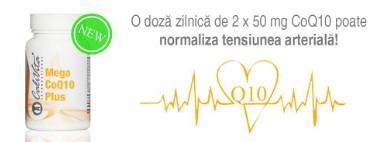 Mega CoQ10 Plus pentru sanatatea inimii si protectie antioxidanta