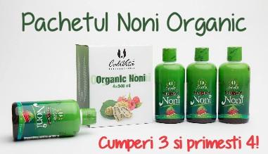 Pachetul Organic Noni 3+1 Gratuit